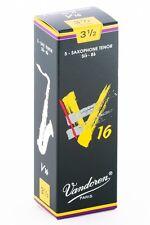 Vandoren SR7235 Tenor Sax V16 Reeds Strength 3.5; Box of 5