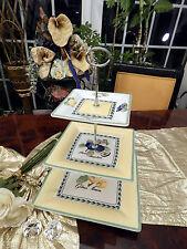 ausgefallene gr Etagere 3stufig Tafelaufsatz Villeroy & Boch French Garden Macon