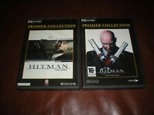 LOT 2 JEUX PC HITMAN TUEUR A GAGES + HITMAN CONTRACTS - PREMIER COLLECTION