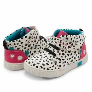 Livie & Luca Sneak Dalmatian Hi Top Sneakers