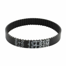 H● S2M-134 Timing Belt 67 Teeth 6mm Width Black Rubber Cogged Industrial.