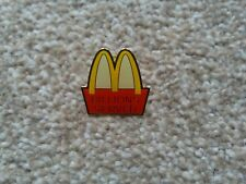 af79a4cf21 McDonald's Billions Served Pin not Jeremy Scott or moschino