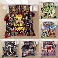 My Hero Academia 3D Bedding Set Comforter Quilt Cover Pillowcases Duvet Covers