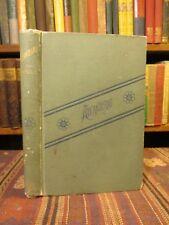 1889 Odell ATLANTEANS Fiction Adam Lore Rare Old Victorian Boy's Struggles Novel