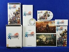 psp DISSIDIA Final Fantasy Limited Collector's Edition PAL UK REGION FREE