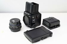 Mamiya RZ67 Pro II Medium Format Camera 110mm 2.8 lens, 220 film back, Polaroid