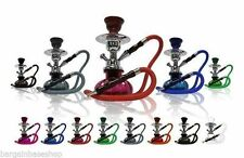 "11"" SHISHA JUNIOR MODERN HOOKAH NARGILLA TRAVEL KIT  1 PIPE + CHARCOAL"