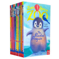 Zoe's Rescue Zoo Collection Amelia Cobb 10 Books Set Happy Hippo, Little Llama