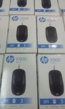 ORIGINAL HP X900 USB Mouse Wired for Desktop Laptop 1 Year Warranty | GST Bill.