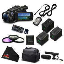 Sony FDR-AX700 4K HDR Camcorder w/3.5 Inch LCD (FDR-AX700/B) Advanced Bundle