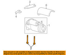 GM OEM Starter-Mount Bolt 12338064