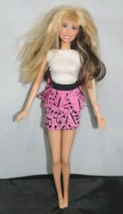 """HANNAH MONTANA 11"""" DOLL WITH MUSIC NOTE DRESS"""