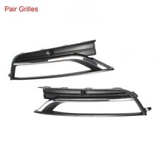 Front Grills Bumper Fog Lights Cover Lamp Frame Trim For VW Passat US 12-15