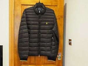 Polo Ralph Lauren Puffer Jacket, Black - XL