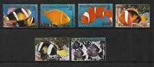 2001 Reef Fish Set of 6 Complete MUH/MNH as issued