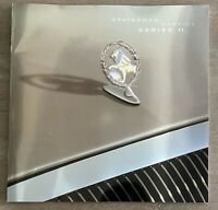 2002/2003 Holden Statesman Caprice Series II original Australian sales brochure