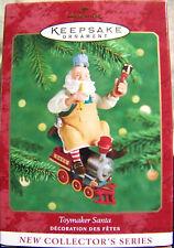 2000 Hallmark Keepsake Ornament Toymaker Santa Claus #1 - First In Series Nmib