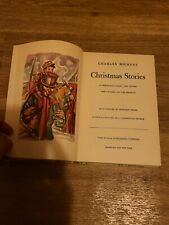 CHRISTMAS STORIES BY CHARLES DICKENS 1946 RAINBOW CLASSICS World Publishing Co
