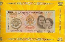 BHUTAN Royal Wedding Nu 100 Album Special Offer