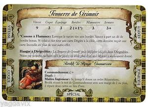 DF49 CARTE TONNERRE DE GRIMNIR ACCESSOIRE DREADFLEET