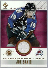 JOE SAKIC 2002 PACIFIC PRIVATE STOCK GAME USED PATCH