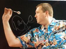 Wayne Mardle - Top English Darter - Signed Colour Photograph