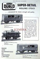 1960 Hornby-Dublo Electric Trains ADVERT Rolling Stock #3 - Original Print AD