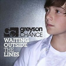 Waiting Outside the Lines [Single] by Greyson Chance (CD, Dec-2010, Geffen)