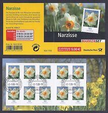 Bund Mi. Nr. 2515 - MH 61 - Blumen - mit Ersttagsstempel Weiden a. Jahrgang 2006