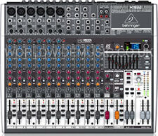 BEHRINGER XENYX X1832USB 8-Input 3/2-Bus Mixer + XENYX Preamps & Compressors