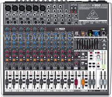 BEHRINGER XENYX X1832USB 8-Input 3/2-Bus Mixer + XENYX Preamps & Compressors