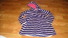 Mini Boden 2-3 Velour Striped Dress