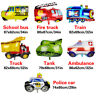 Kid Gift Foil Balloon School Cartoon Car Fire Truck Birthday Party Decor Home SL