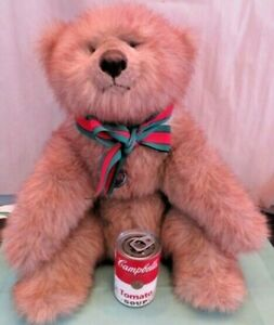 """Vintage 20"""" Gund 1985 Collector's Classic """"Baron"""" Plush Bear - Excellent"""