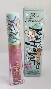 too faced liquified matte long wear lipstick 7ml melted clover
