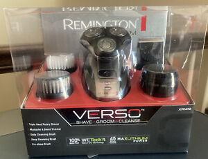 NEW Remington Verso Wet & Dry Men's Shaver & Trimmer Grooming Kit XR1410