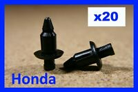 For HONDA 20 motor cycle motor bike fairing panel trim push rivet fastener clips
