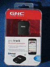 GNC Live Well Pro Track Bluetooth Pedometer, Black, New!
