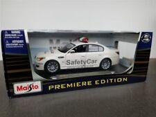 BMW M5 MOTO GP SAFETY CAR 2007 DIE CAST MODEL WHITE BY MAISTO 36144