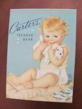 Carter's Infants Wear Vintage Box w/Handmade Looking Linen Christening Gown?