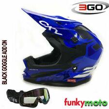 Casques bleus motocross/ATV pour véhicule