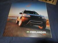 2011 Range Rover Sport USA Market Color Brochure Catalog