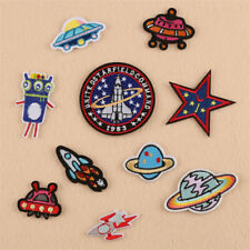 CN_ 10 Pcs Planet Star Iron on Patch Clothes Applique Sticker Badge Decor _GG