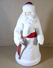 Soviet Christmas Santa figure Cotton plastic vintage Дед Мороз.