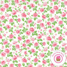 Moda SEW & SEW 33183 27 Strawberry Whip CHLOE'S CLOSET Quilt FABRIC YARDAGE 30's