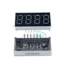 5pcs 036 Inch 7 Segment 4 Digit Common Cathode 036 Red Led Digital Display