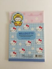 Sanrio Vintage Duck Hello Kitty Letterpad From Japan 1999 Used