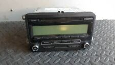 VW PASSAT 3C B6, RADIO HEADUNIT CD PLAYER BLAUPUNKT 1K0035186AA, 7647201360