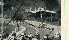 1937 3.Reich Ganzsache Solitude Motorsport  Autograph Hermann Lang Mercedes