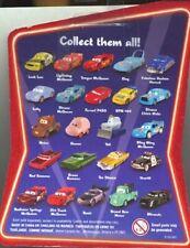 DISNEY PIXAR CARS - COLLEZIONE SUPERCHARGED - 43 MODELLINI